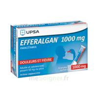 Efferalgan 1g Cappuccino granules 8 sachets à POITIERS