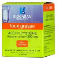ACETYLCYSTEINE BIOGARAN CONSEIL 200 mg Pdr sol buv en sachet B/20 à POITIERS