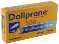 DOLIPRANE 200 mg Suppositoires 2Plq/5 (10) à POITIERS