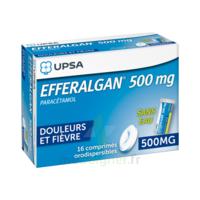 EFFERALGAN 500 mg, comprimé orodispersible à POITIERS