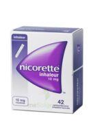 NICORETTE INHALEUR 10 mg Cartouche p inh bucc inhalation buccale B/42 à POITIERS