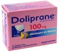 Doliprane 100 Mg Poudre Pour Solution Buvable En Sachet-dose B/12 à POITIERS