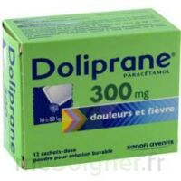 Doliprane 300 Mg Poudre Pour Solution Buvable En Sachet-dose B/12 à POITIERS