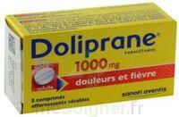 DOLIPRANE 1000 mg Comprimés effervescents sécables T/8 à POITIERS