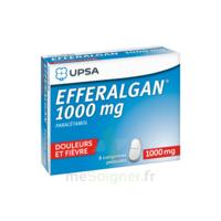 Efferalgan 1000 mg Comprimés pelliculés Plq/8 à POITIERS