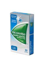 NICORETTE 4 mg Gom à mâcher médic sans sucre menthe glaciale Plq/30gom à POITIERS