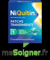 NIQUITIN 21 mg/24 heures, dispositif transdermique Sach/7 à POITIERS