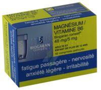 MAGNESIUM/VITAMINE B6 BIOGARAN CONSEIL 48 mg/5 mg, comprimé pelliculé à POITIERS