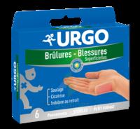 URGO BRULURES-BLESSURES PETIT FORMAT x 6 à POITIERS
