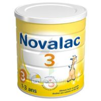 Novalac 3 Croissance lait en poudre 800g à POITIERS