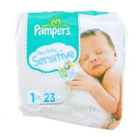 PAMPERS COUCHES NEW BABY SENSITIVE TAILLE 1 2-5 KG x 23 à POITIERS