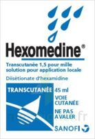 HEXOMEDINE TRANSCUTANEE 1,5 POUR MILLE, solution pour application locale à POITIERS