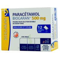 PARACETAMOL BIOGARAN 500 mg, poudre pour solution buvable en sachet-dose à POITIERS