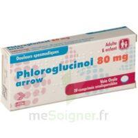 PHLOROGLUCINOL ARROW 80 mg Cpr orodisp Plq/20 à POITIERS