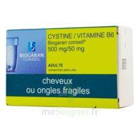 CYSTINE/VITAMINE B6 BIOGARAN CONSEIL 500 mg/50 mg Cpr pell Plq/120 à POITIERS