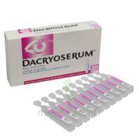 DACRYOSERUM Solution pour lavage ophtalmique en récipient unidose 20Unidoses/5ml à POITIERS