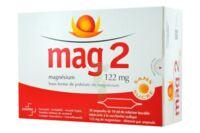 MAG 2 SANS SUCRE 122 mg, solution buvable en ampoule édulcoré à la saccharine sodique à POITIERS