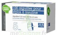 SOLUDIAB Aiguilles stylos insuline 5mm FINES 31G – Bt100 à POITIERS