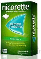NICORETTE 2 mg Gom à mâcher médic sans sucre menthe fraîche Plq/30gom à POITIERS