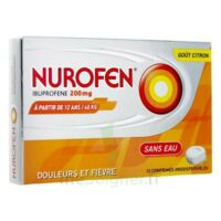 NUROFEN 200 mg, comprimé orodispersible à POITIERS