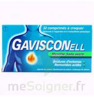 GAVISCONELL Coprimés à croquer sans sucre menthe édulcoré à l'aspartam et à l'acésulfame potas Plq/24 à POITIERS