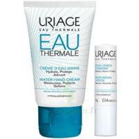 Uriage Eau Thermale Crème D'eau Mains T/30ml+stick Lèvres à POITIERS