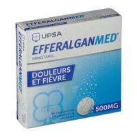 EFFERALGANMED 500 mg, comprimé effervescent sécable à POITIERS