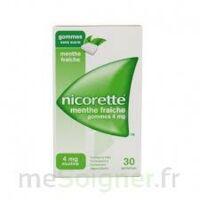 NICORETTE 4 mg Gom à mâcher médic sans sucre menthe fraîche Plq/30gom à POITIERS