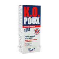 Item K.O. Poux Gel crème anti-poux 100ml+peigne fin à POITIERS
