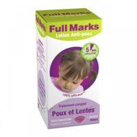 Full Marks Lotion antipoux et lentes 100ml+peigne à POITIERS