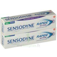Sensodyne Rapide Pâte Dentifrice Dents Sensibles 2*75ml à POITIERS