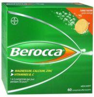 Berocca Comprimés effervescents sans sucre T/60 à POITIERS