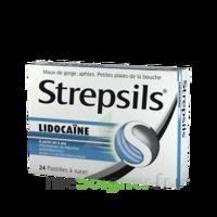 Strepsils lidocaïne Pastilles Plq/24 à POITIERS