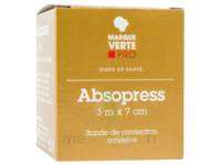ABSOPRESS Bande contention cohésive 3m x 7cm – blanc à POITIERS