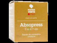 ABSOPRESS Bande contention cohésive 3,5m x 10cm – blanc à POITIERS