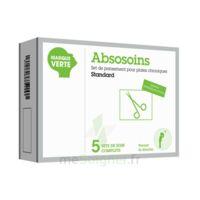ABSOSOINS Set pans Plaies Chroniques Standard – Bt de 5 à POITIERS