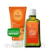 Weleda huile de massage arnica 200ml  + Gel douche OFFERT à POITIERS