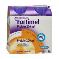 Fortimel Protein Nutriment caramel 4 Bouteilles/200ml à POITIERS