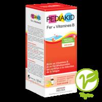 Pédiakid Fer + Vitamines B Sirop banane 125ml à POITIERS