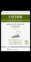 Cattier Argile Poudre surfine blanche 200g à POITIERS