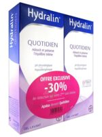 Hydralin Quotidien Gel lavant usage intime 2*400ml à POITIERS