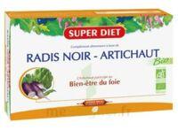 Superdiet Radis noir Artichaut Bio Solution buvable 20 Ampoules/15ml à POITIERS