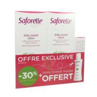 Saforelle Solution Soin Lavant Doux 2*500ml+100ml à POITIERS