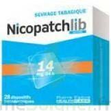 NICOPATCHLIB 14 mg/24 h Dispositifs transdermiques B/28 à POITIERS