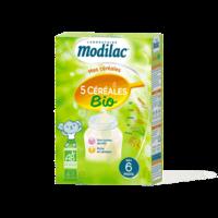 Modilac Céréales Farine 5 Céréales bio à partir de 6 mois B/230g à POITIERS