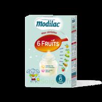 Modilac Céréales Farine 6 Fruits à partir de 8 mois B/300g à POITIERS