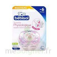 Bebisol Slim - Sucette physiologique silicone nuit fille T1 à POITIERS