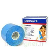LEUKOTAPE K Sparadrap bleu ciel 5cmx5m à POITIERS