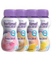 Fortimel Protein Nutriment multi saveurs caramel/vanille/fraise/mangue 4 Bouteilles/200ml à POITIERS