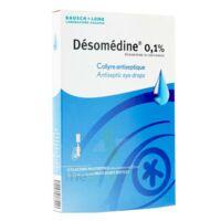 Desomedine 0,1 % Collyre Sol 10fl/0,6ml à POITIERS
